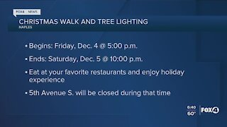 Local holiday activities