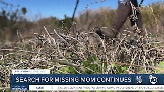Search for missing Chula Vista mom continues Sunday near Spring Valley Swap Meet