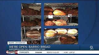 Barrio Bread offering bread to go