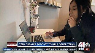 Blue Valley teen starts podcast on quarantine help