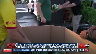 Boys and Girls Club helps feed families in need