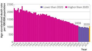 BJM Data Shows NO Excess Deaths in 2020