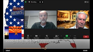 Sahuarita Tea Party Breaking News interview with Jeff Utsch, Constitutional Authority