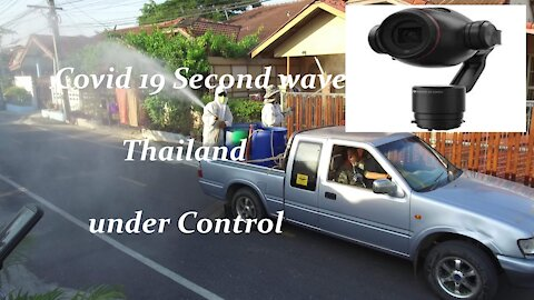 Covid -19 second wave started but under control in Thailand