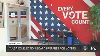 Tulsa Co. Election Board prepares for voters