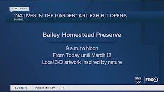 Art exhibit opens on Sanibel