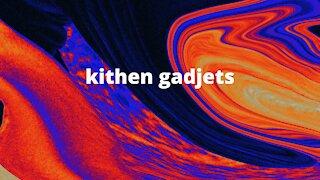 Kitchen gadgets that help