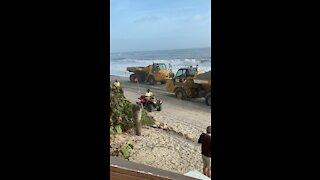 Beach Rebuilding