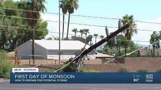 SRP: How to stay safe around downed power lines during Arizona monsoon storms