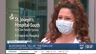 Health care workers honored with Super Bowl tickets