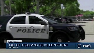 Fort Myers to discuss dissolving Fort Myers Police Department