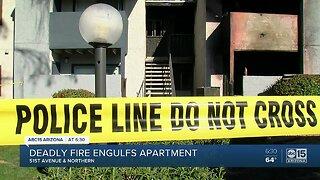 Woman, dog killed in Phoenix apartment fire