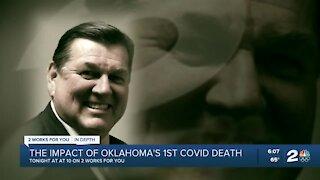 The impact of Oklahoma's 1st COVID death