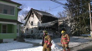 Akron house fire leaves mother and 3 children dead Wednesday morning