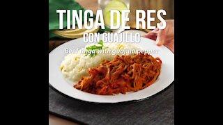 Beef Tinga with Guajillo