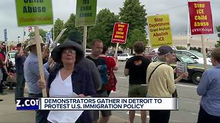 Demonstrators protest U.S. immigration policy