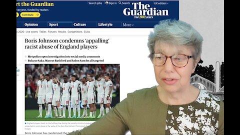 The Euros Football Final - and Media Smear the England Fans