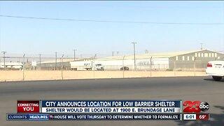 Bakersfield announces plan for new homeless shelter