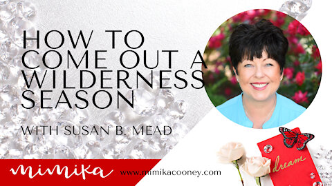 How to Come out of a Wilderness Season with Susan B. Mead