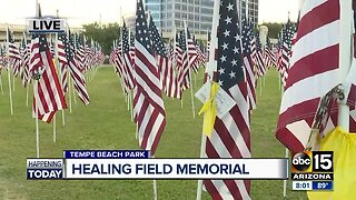 Healing Field Memorial at Tempe Beach Park