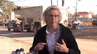Mayor Castor gives update on water main break