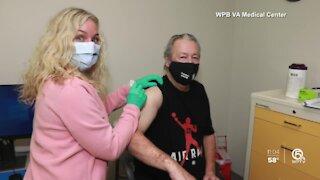 West Palm Beach VA vaccines 10K