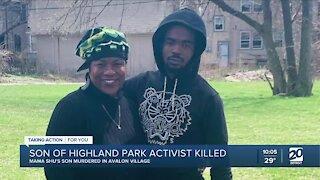Son of Highland Park activist gunned down