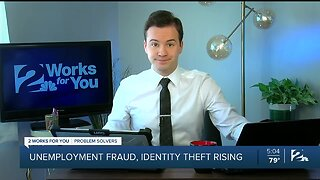 Unemployment fraud, identity theft rising