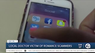 Romance Scammers Target Doctor