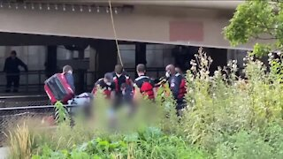 28-year-old rescued from Milwaukee river has died