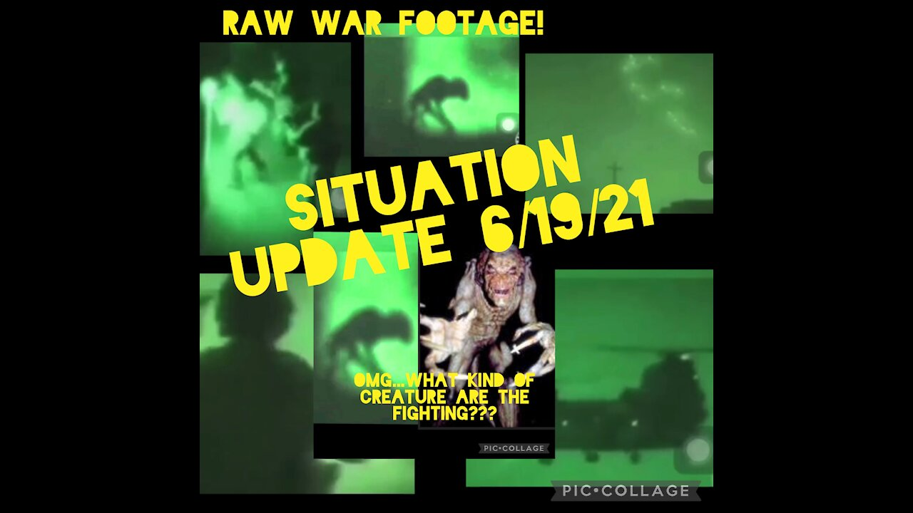 Situation Update: Raw War Footage! - Must Video
