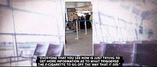 UPDATE: Passengers describe panic after e-cig explosion at Las Vegas airport