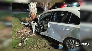Driver in serious condition after crash on Three Oaks Pkwy.