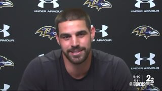Ravens' Mark Andrews: 'Opting out never really crossed my mind'