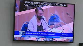 WEB EXTRA: Palm Beach County health director 'concerned' about holidays and COVID-19