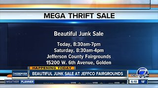 Beautiful junk sale today & Saturday