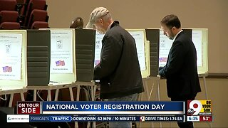 Where you can register to vote on National Voter Registration Day