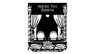 Inside the booth trailer