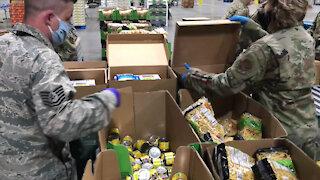 04/03/2020 Washington National Guard support food banks
