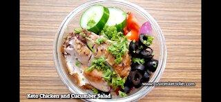 Chicken and Salad - Diet Recipe & Delicious !