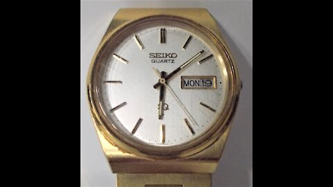 Review of the 1990 Seiko SQ Day Date Men's Quartz Watch