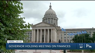 Governor Holding Meeting on Finances
