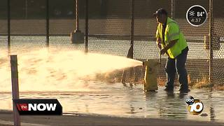 City works to replace water pipes