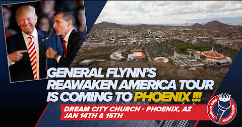 General Flynn's ReAwaken Tour Phoenix Tickets Now On Sale!!! Only 3,512 Tickets Remaining