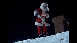 YTMND: Santa roof rave