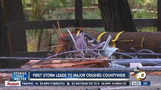 Storm causes issues across San Diego County