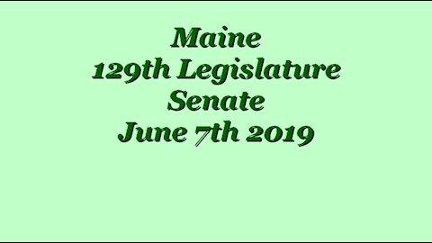 20190607 Senate 640 Died -- Table LD1363 - LD1383