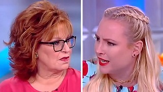 Meghan McCain rips Joy Behar over distasteful Melania joke on The View