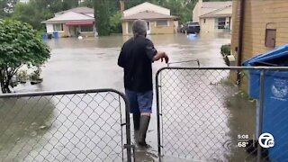 Dearborn residents dealing with more flooding