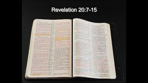 Study of Revelation 20:7-15